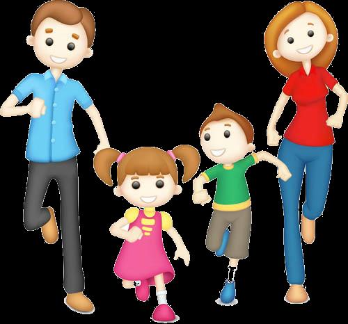 здоровая семья картинки